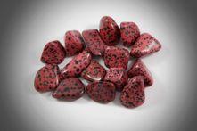 Dalmatín jaspis červený XL 1ks