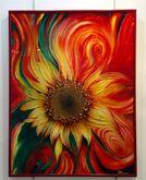 Na skle maľované, Slnečnica